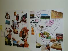 Food web collage:  your lunch