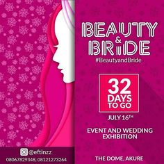 """@Regrann from @eftinzz -  BEAUTY AND BRIDE  What is with the contour and Highlights ?  Brushes, glitters , colours, nudes and shadows.  All these and more at the various Make Over stands at the exhibition.  For Sponsorship and Exhibition Stands, call Timilehin on 08067829348  #Beautyandbride #Exhibition #Akure #Wedding #Party #Ondo #Osun #Oyo #Ibadan #Events @eftinzz - #regrann"" by @csihumans. #이벤트 #show #parties #entertainment #catering #travelling #traveler #tourism #travelingram…"