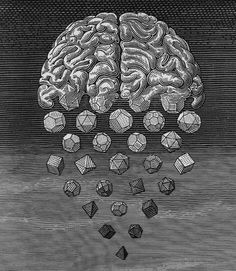 How very ON THE ROCKS! Excellent that the geometric shapes are coming from a brain too. Nice that graphics have something to be undestood - symbols. Always have that.