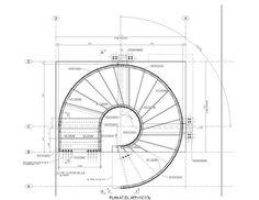 Circular Stair 101 Warren Street, New York, NY. Plan.