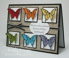 Wickedly Wonderful Creations.   Papillon Potpourri.  Stampin' Up!