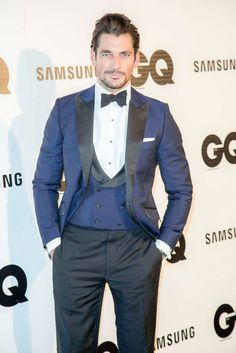 David Gandy GQ Men of the Year Awards 2014 Madrid – Arrivals – Palace Hotel – Madrid, Spain