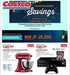 Costco Black Friday Ad 2015
