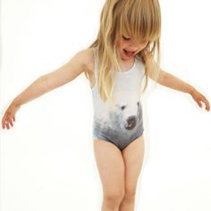 polar bears, bear swimsuit