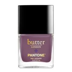 butter LONDON and PANTONE, the Global Color Authority, present this collection of provocative purple nail lacquers inspired by the Color of the Year Ultra Violet. Mauve Nail Polish, Mauve Nails, Nail Lacquer, Glitter Nail Polish, Purple Nails, Nail Polish Colors, Simple Nails Design, Nail Design Spring, Spring Nail Colors