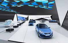 Conceptual preview design for Hyundai Motor company at Leipzig, Germany