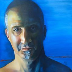 Michael, by Tanya Isaacson on Artsrow.com, Oil on Canvas