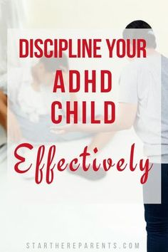 How To Discipline An ADHD Child Effectively Your ADHD child's behavior is caused by an actual disorder beyond his complete control. So most one-size-fits-all parenting advice can be completely unhelpful for your child. Parenting Teens, Kids And Parenting, Parenting Hacks, Parenting Styles, Parenting Classes, Natural Parenting, Foster Parenting, Parenting Quotes, Peaceful Parenting