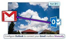 Configure Outlook connect your Gmail mailbox Manually | Part 3#3 - http://o365info.com/configure-outlook-connect-gmail-mailbox-manually-part-3-of-3/