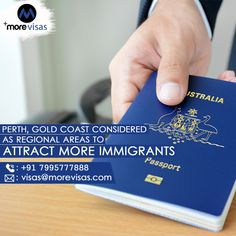 """The Australian government is raising intake beneath its regional migration program from 23,000 to 25,000 following the initial victory of the initiative and will no longer classify Gold Coast and Perth as """"major cities"""" to make them targets for both international students and skilled migrants.  #AustraliaImmigration #AustraliaPR #WorkinAustralia #SkilledRegionalVisa #SkilledWorkerProgram #MoreVisas Australia Immigration, Work In Australia, Gold Coast, Regional, Perth, Raising, Attraction, Initials, Cities"""