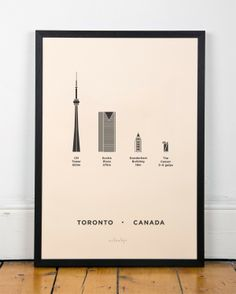 Toronto Canada print by me&him&you. Would be fun to design my own print of Grand Rapids.