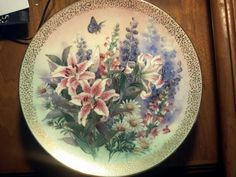 'LENA LIU COLLECTIBLE PLATE - 1991' is going up for auction at  9pm Mon, Jun 25 with a starting bid of $10.