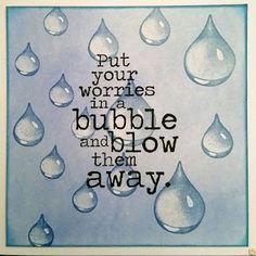 Eveliens blogpagina: Bubbles