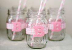 Cute Mason Jars for Baby Shower