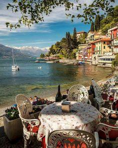 Varenna, na Itália