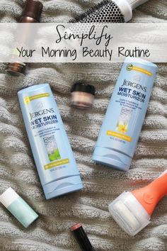 Cut major time from your morning routine with these simple tips! @target #ApplyBeforeYouDry #ad