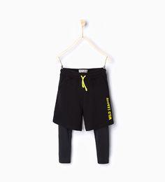 ZARA - NEW IN - Bermuda shorts with  Wild league  sporty leggings