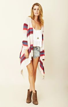 Goddis Linsey Hooded Wrap Sweater