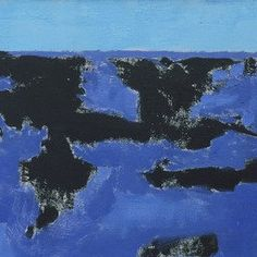 Milton Avery. Sea Grasses and Blue Sea. 1958 | MoMA