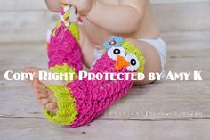 Owl Leg Warmers, Baby Girl, Baby Girl Leg Warmers, MADE TO ORDER on Etsy, $20.00