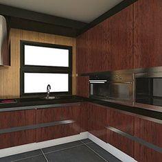 Gemma Gonzalez - Interiorista Salamanca Kitchen Cabinets, Home Decor, Custom Furniture, Luxury Apartments, Architecture, Interiors, Blue Prints, Decoration Home