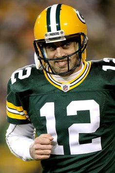Aaron Rodgers....I fucking hate this pc of shit cheese head. That's why his ass lost vs the seahawks..can you say OVERRATED!