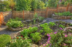 15 Charming Garden Design Ideas with Stone Edges and Raised Beds