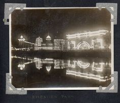 Riverview Amusement Park (Belmont and Western), 1908, Chicago.