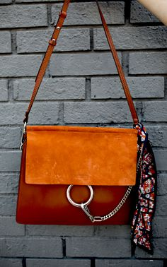Chloe faye bag in medium size classic tobacco nordstrom