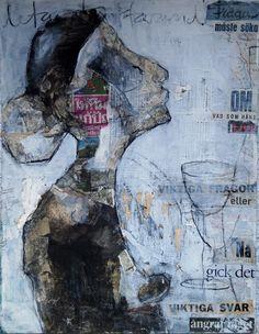 carola kastman,collage,frågar efter vägen