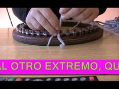 Cómo hacer un gorro slouchy beanie en punto canasta con telar circular - YouTube
