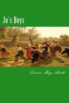 Jo's Boys revisits Plumfield, the New England school still presided over by Jo and her husband, Professor Bhaer. Jo's boys--including rebellious Dan, sailor Emil, and promising musicain Nat--are grown; Jo herself remains at the center of this tale, holding her boys fast through shipwreck and storm, disappointment ... and even murder. CreateSpace eStore: https://www.createspace.com/4932149