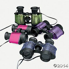 Spy gear...