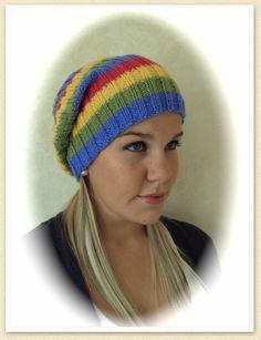 DK Knitted Beanie Hat free knitting pattern