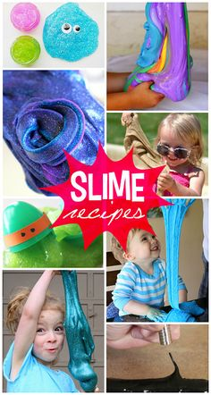 The Coolest Slime Recipes for Kids to Play With! | CraftyMorning.com