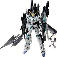 Check this Unicorn Gundam out in the link.  Bandai RX-0 Full Armor Unicorn Gundam Ver.Ka 1/100 Master Grade Plastic Model Kits, Plastic Models, Unicorn Gundam, Boat Kits, Plastic Injection, Model Building Kits, Gundam Model, Mobile Suit, Battleship