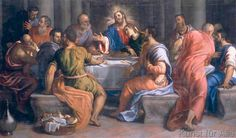 Giuseppe Salviati - Das Abendmahl