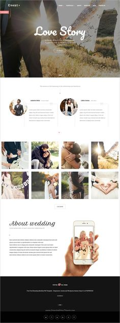 EventPlus is a wonderful responsive 5in1 #WordPress theme for #wedding and events #celebration website download now➩ https://themeforest.net/item/eventplus-wedding-wordpress-theme/17369100?ref=Datasata