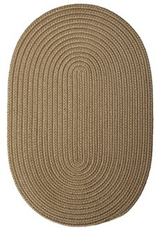 Boca Raton Polypropylene Braided Round Rug 4Feet Caf Tostado *** You can find more details by visiting the image link.