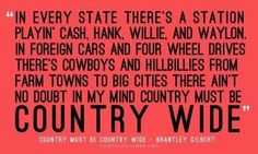 this is so true--I've met people from all over the world who love American country music