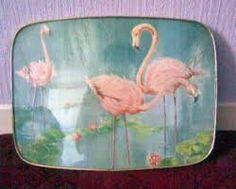 kitsch flamingo