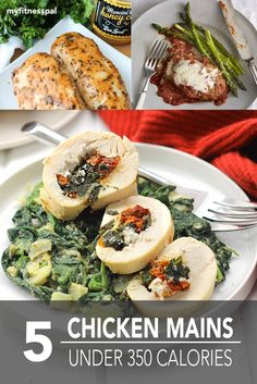 Chicken gets a bad rep for being ordinary, but it's a protein-rich, blank canvas for creative cooking. If you're ready to expand beyond topping salad greens with grilled chicken, try one of these healthy recipes that either pairs chicken with delectable, easy-to-make sauces or remakes comfort-food favorites like chicken tenders. 1. Kale & Sun Dried …