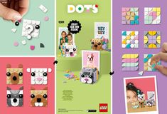 Cubes, Cube Photo, Picture Holders, Lego Group, Lego Projects, Lego Instructions, Animal Pictures, Girl Parties, Dots