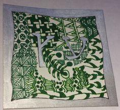Etz  Hebrew Word for Tree  Zentangle Inspired Art by AutismCrafts
