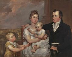 John Trumbull (American artist, 1756 – 1843) The Vernet Family 1806