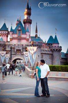 Disneyland Engagement Session  By Jen O'Sullivan http://www.jenosullivan.com