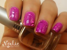 Jelly Sandwich for the 31 Days Challenge - Day 6 ; Violet    What was used:  Models Own: Lilac Dream  China Glaze: Fairy Dust  Kleancolour: Born to the Purple