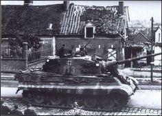Carro Aleman Tiger II:  Panzerkampfwagen Tiger Ausf. B o  Kingtiger #Historia #IIGM