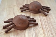 Teacake Ghosts and Spiders