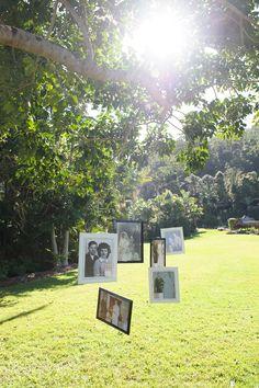 Family tree decoration at wedding ceremony | Copyright: SilverEdge Photography - Brisbane Wedding Photographers
